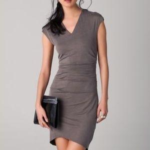 Helmut Lang Torrent Dress (Gray)